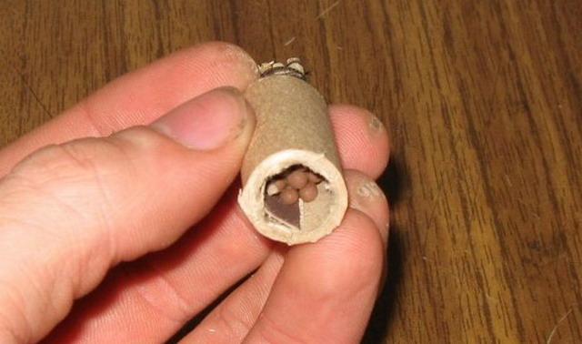 Делаем гранату в домашних условиях